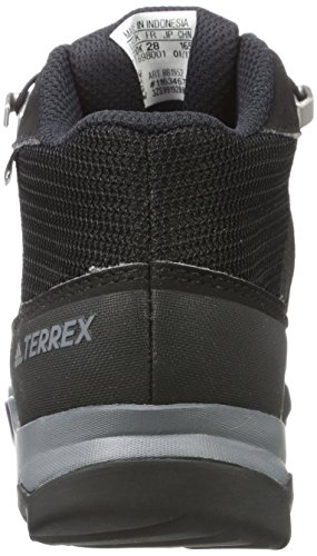 adidas Terrex Mid Gtx K, Scarpe da Arrampicata Basse Unisex-Bambini Nero (Core Black/core Black/vista Grey)