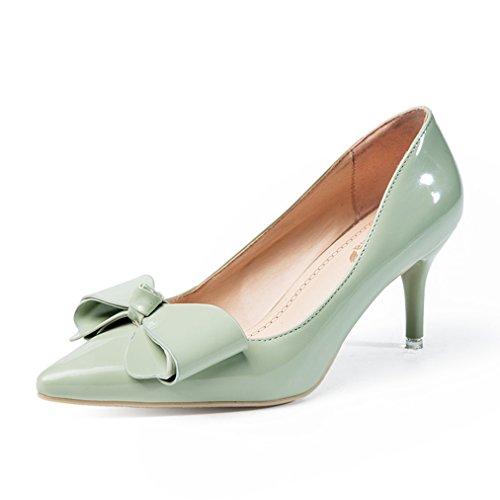 XTIAN - Scarpe con Tacco Donna Verde