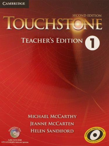 Touchstone Level 1 Teacher's Edition with Assessment Audio CD/CD-ROM