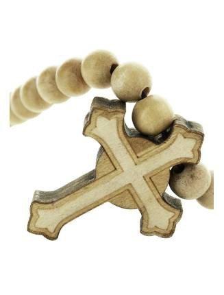 Wood Fellas Herren Accessoires / Kette Celtic Cross beige Einheitsgröße