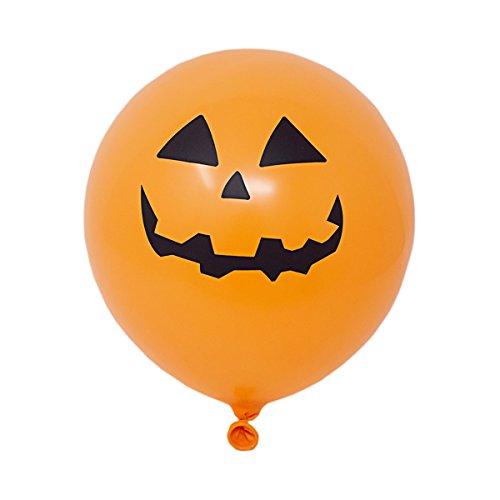 in Illoom Light up LED Ballons Halloween Balloons Packs von 5 oto50Spooky wie gesehen auf Dragons den Light up Balloons Party Decor leuchtende Ballons (Halloween Ist Schwarz Wie Die Nacht Tab)