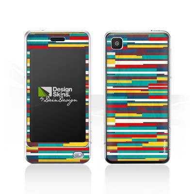 lg-pop-gd510-autocollant-protection-film-design-sticker-skin-bandes-couleurs-motif