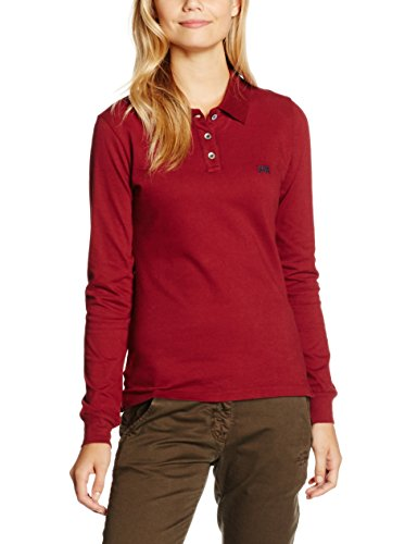 Think Pink Polo piquet Donna Rosso scuro