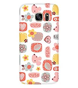 PRINTSWAG PATTERN Designer Back Cover Case for SAMSUNG GALAXY S7
