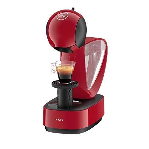 Krups Nescafé Dolce Gusto Infinissima KP1705 Kapsel Kaffeemaschine (für heiße und kalte Getränke, 15 bar Pumpendruck, manuelle Wasserdosierung, 1,2 l Wassertank, Abschaltautomatik) rot