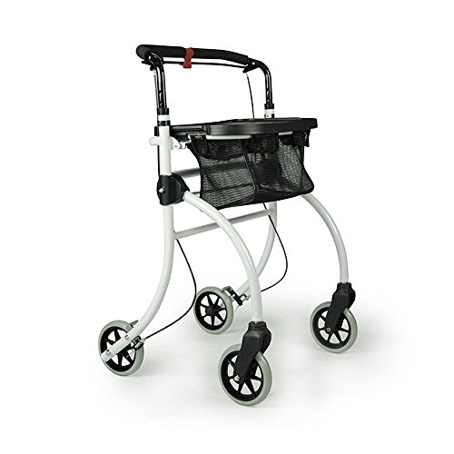 Drive Medical Indoor Rollator Roomba, weiß