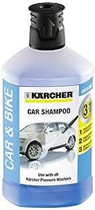 Karcher Accessorio Per Idropulitrice - Detergente per Auto 3 in 1 - 1L - Auto e Moto per tutti i modelli
