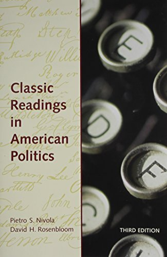 Classic Readings in American Politics by Pietro Nivola (1998-12-15)