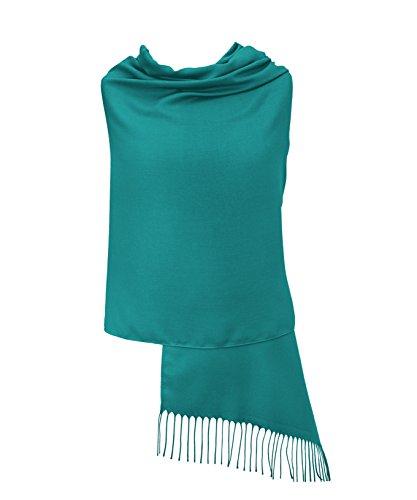 Knickente Pashmina Stola Schal Tuch – Super Weich – 34 Schöne Farben - Hergestellt in Italien – Exklusiv von Pashminas & Wraps aus London - Luxuriös und Elegant