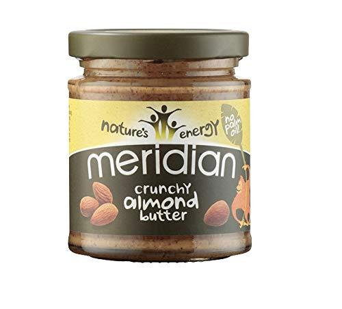 Meridian Almond Butter 100% 170 g Crunchy