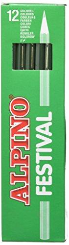 Alpino C0130009 – Caja, 12 unidades, color verde oscuro