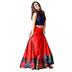 MINIFLY Womens Unstitched Lehenga Choli (Women)