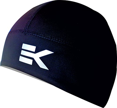 WINTER EKEKO TEIDE CAP, running, cycling and winter sports in general. Unisex (BLACK, UNIQUE)