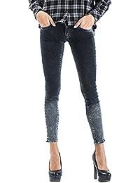 Jeans Meltin Pot Skinny Noir Femme