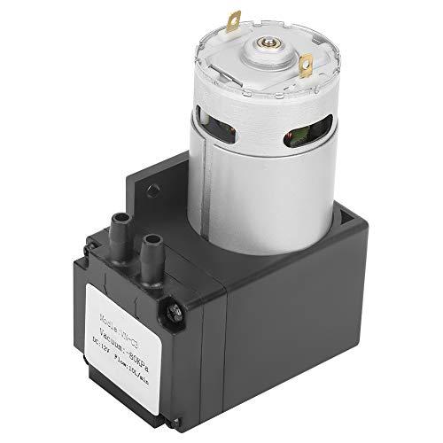DC12V 12W Oilless-Vakuumpumpe, 80kPa Mini-Vakuumpumpe, verwendet für medizinische Sauerstoffgeneratoren für den Haushalt, usw.
