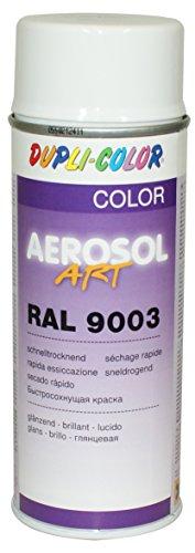 Dupli-Color 741418 Aerosol Art Ral 9003 glänzend 400 ml