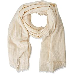 Springfield Women's Scarf Beige Beige (Dark Brown) X-Small