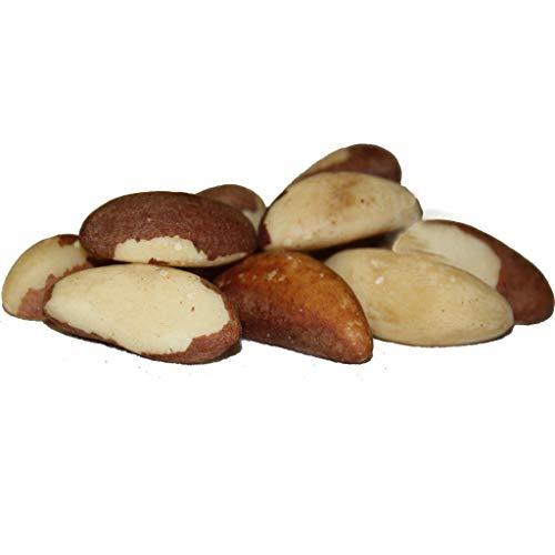 Dorimed - Paranüsse, Geschält, Ganz, Naturbelassen, Roh, Wiederverschließbarer Beutel, 1kg