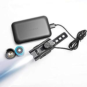 IMALENT BG10 Bicicleta de montaña Luz de ciclismo regulable LED 2300 lúmenes Mini linterna CREE Antorcha delantera Batería alimentada por USB Magnética recargable impermeable Noche de seguridad