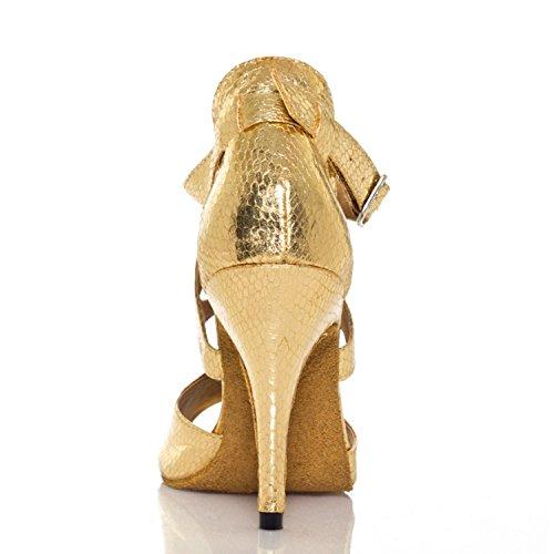Miyoopark - Ballroom donna Gold-10cm heel