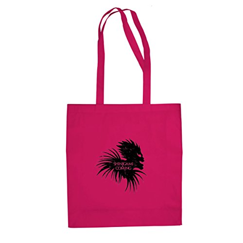 Shinigami is Coming - Stofftasche / Beutel Pink
