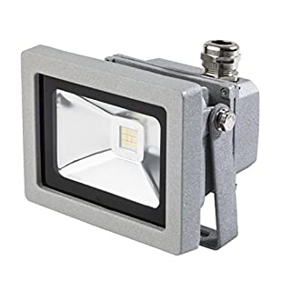 as - Schwabe Professional LED Spotlight with Cable, grey, 46915 12W, 230V