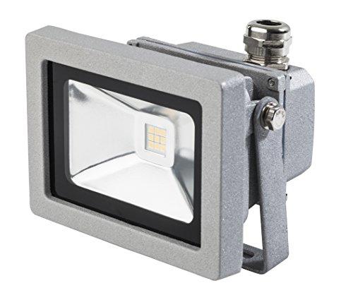 as - Schwabe 46915 Profi Outdoor LED Strahler 12W, Schutzklasse IP 65 Aussenbereich, 12 W, 230 V, Chip Philips-chips