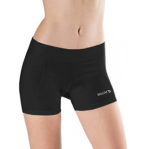 41NLIzK2VJL BEST BUY UK #1Baleaf Womens 3D Padded Cycling Brief Underwear Shorts Black Size S price Reviews uk