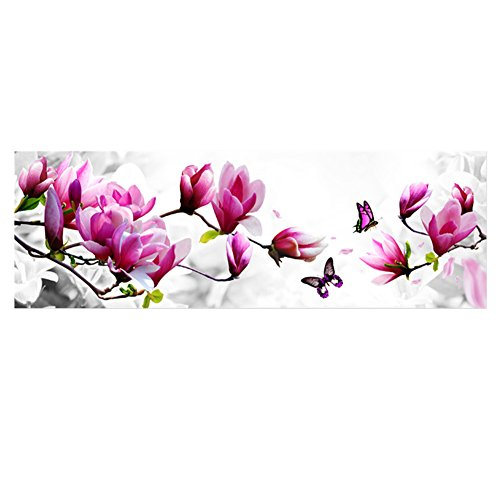 MORESAVE 5D DIY Magnolia farfalla strass Diamante Pittura Punto Croce