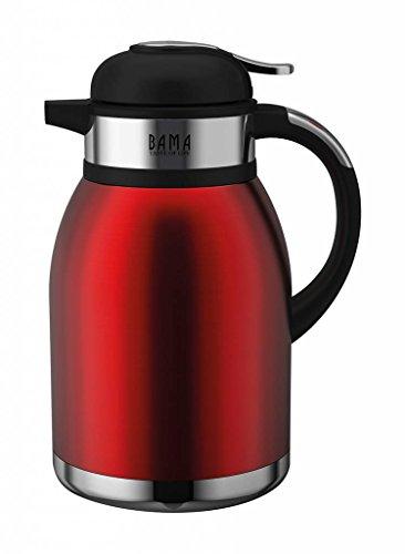 Bama - Tahiti Kaffeekanne / Teekanne Thermoskanne Thermos 2L rot