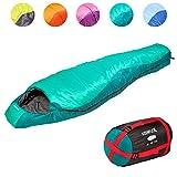 KeenFlex Mummy Sleeping Bag 3-4 Season Extra Warm & Lightweight Compact Waterproof Advanced
