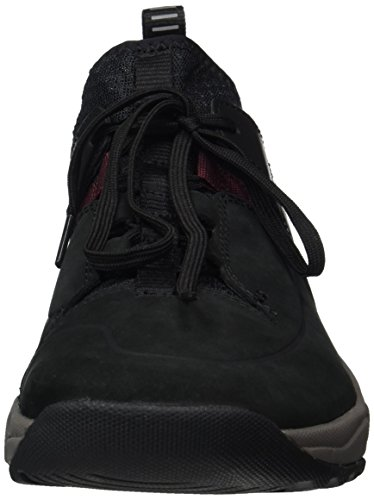 Clarks Herren Tritrack Lo Sneaker Schwarz (Black Combi)