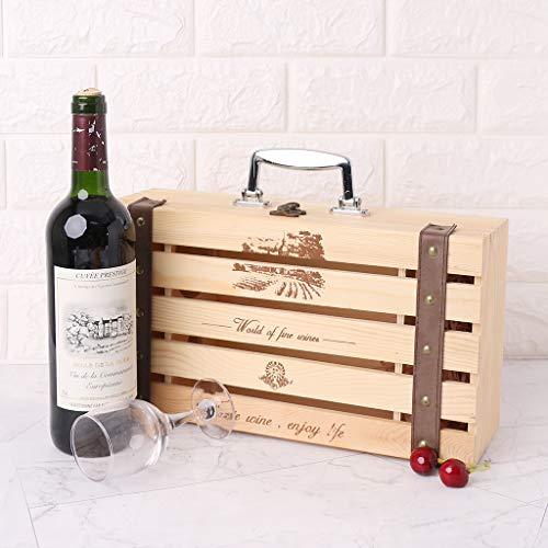 Shenxay Creative Design Portabottiglie in acciaio inox Portabottiglie da vino Porta bottiglie da vino