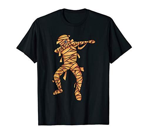 Tanz Kostüm Mumie - Dabbing Mumie Dab Tanz Mumien Halloween Kostüm Humor Gift T-Shirt