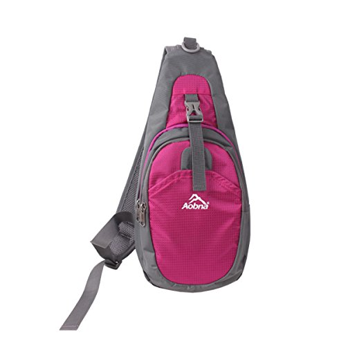 BULAGE Tasche Männer Und Frauen Fahrrad Outdoor Sport Schulranzen Brusttasche Art Und Weise Beiläufig Schulter Rucksäcke Wandern Reisen Red