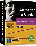 JavaScript et Angular - Coffret de 2 livres : Développez vos pages Web (2e édition)