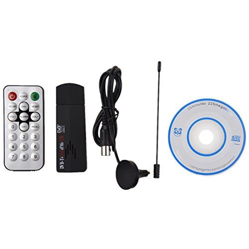 SODIAL(R) USB2.0 Digital DVB-T TV-Tuner-Recorder-Empfaenger-Stick RTL-SDR + DAB + FM R820T