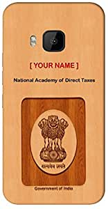 "Aakrti Mobile Back cover with your Dept: National Academy of Direct Taxes.Express your ID in Your Way With "" Your Name "" Printed on your Smart Phone : HTC M7"