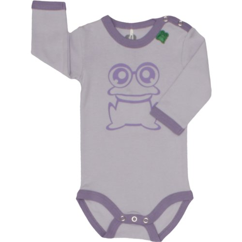 Fred'S World By Green Cotton - Body - Bébé Fille - Violet (Purple Haze) - FR : 2 mois (Taille fabricant : 56)