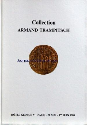 COLLECTIONS ARMAND TRAMPITSCH du 31/05/1...