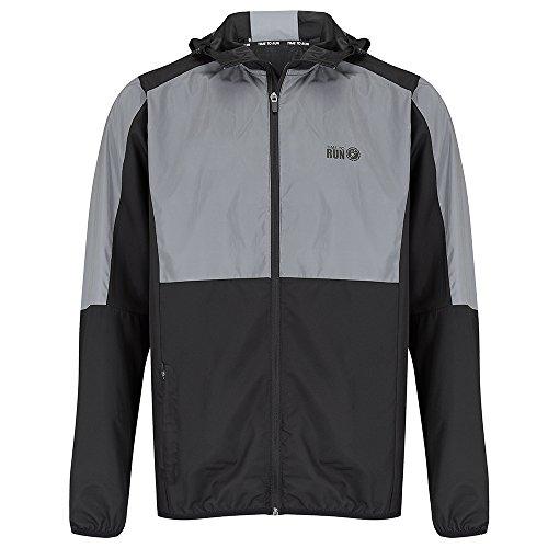 Time To Run Men's Reflective Spirit Windproof Running Jacket