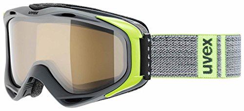 Uvex Erwachsene G.GL 300 P Skibrille, Darkgrey mat, One Size