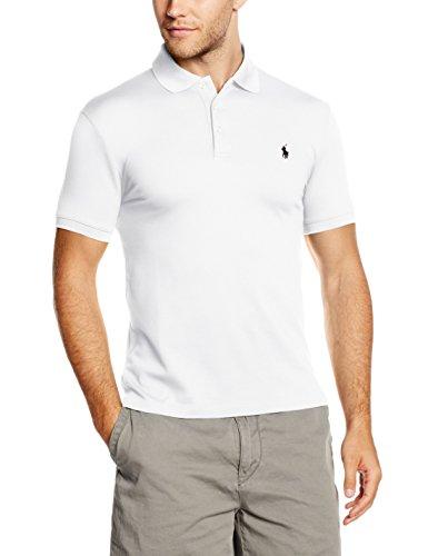 Polo Ralph Lauren Herren SS KC SLFIT MDL 1 Poloshirt, Weiß (WHITE A1000), Small