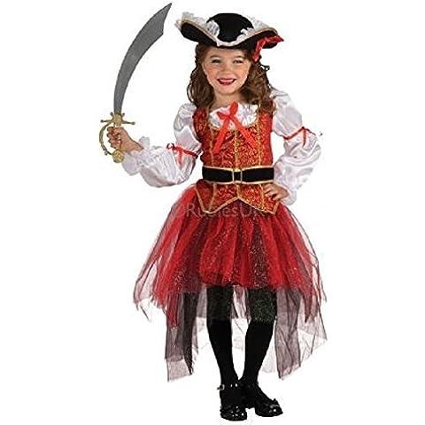 Rubini Principessa Pirata Of The Seas Ragazze