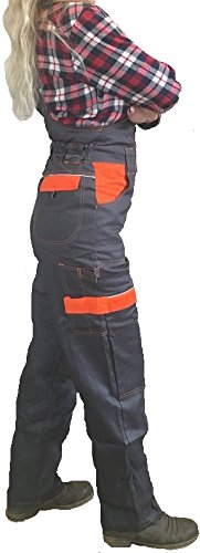 ARDON Women Work Bib and Brace Girls Overalls Ladies Trousers Dungarees BIB PANTS NEW 16 UK - 44 EU