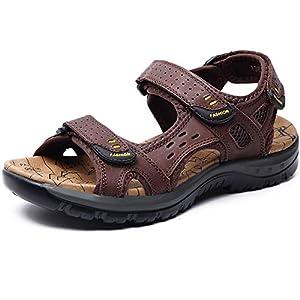 Sandale Herren Sandalen Outdoor Trekking Wanderschuhe Herren Schnell Trocken Outdoor Sandalen Leichte