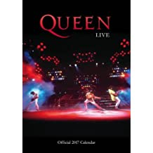 Queen Official 2017 A3 Calendar (Calendar 2017)