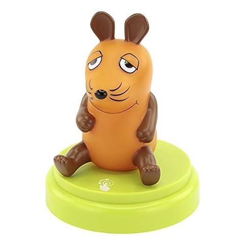 ANSMANN Maus LED-Nachtlicht für Kinder/Babys Cartoon Orientierungslicht Einschlafhilfe autom. Abschaltung - Geprüfte Kindersicherheit mit Sensor (Sendung mit der Maus)
