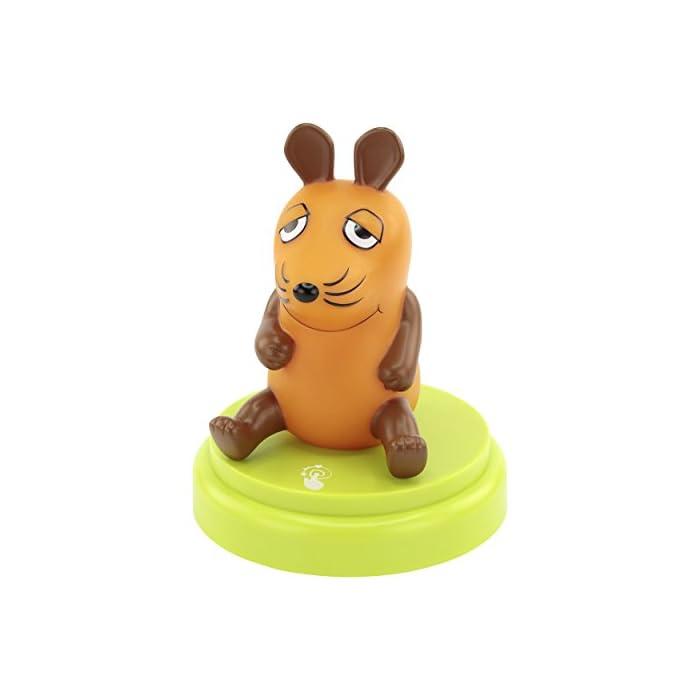 ANSMANN LED Nachtlicht Die Maus - Süße Einschlafhilfe mit Sensor Touch - Kinderlampe ideal als Nachttischlampe Babylicht Kinderlicht Tischlampe Touchlampe Nachtlampe für Baby & Kind im Kinderzimmer 1