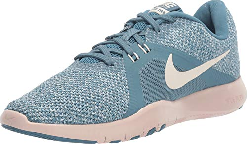 Nike Damen W Flex Trainer 8 Fitnessschuhe, Mehrfarbig (Celestial Teal/Guava Ice/Light Silver 400) 42 EU Celestial 8